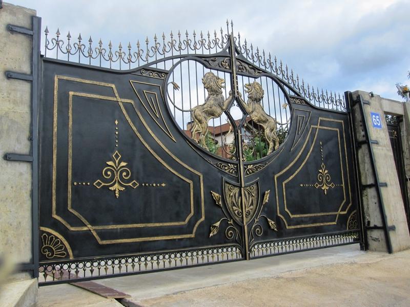 Распашные ворота в подольске самодельные чертежи откатных ворот